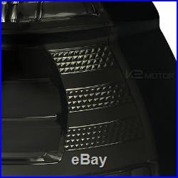 2001-2003 BMW E39 5-Series M5 525i 530i 540i Smoke Lens LED Tail Lights Pair