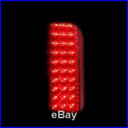 2002 2003 2004 2005 2006 Cadillac Escalade LED Brake Tail Lights Red Clear Pair