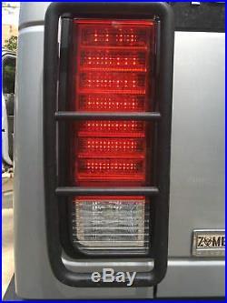 2003 2004 2005 2006 2007 2008 2009 Hummer H2 Red FULL LED Tail Lights Pair