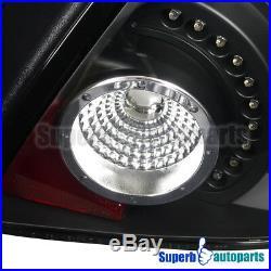 2003-2005 Dodge Neon SRT4 R/T LED Tail Lights Depo Black