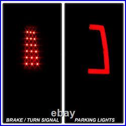 2003-2006 Chevy Silverado 1500 2500 3500 Red LED Tube Tail Lights Brake Lamps