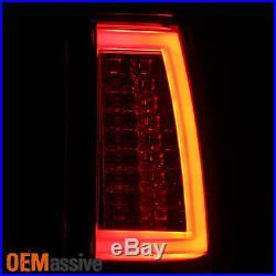 2003-2006 Chevy Silverado GMC Sierra 1500 2500HD 3500 Smoke LED Tube Tail Lights