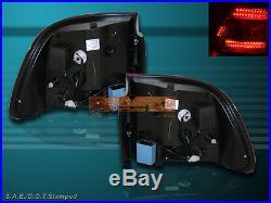 2003-2006 Porsche Cayenne L. E. D. Tail Lights Led Red Lens Pair New