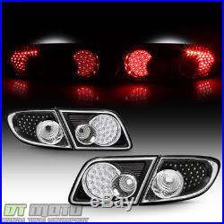 2003-2008 Mazda6 4-Door Sedan Black LED Tail Lights Brake Lamps Left+Right 4Pcs