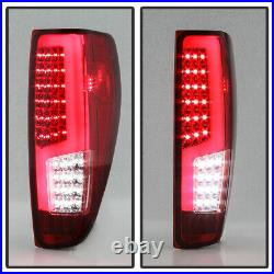 2004-2012 Chevy Colorado Canyon Full LED Light Tube Tail Lights Lamps Left+Right