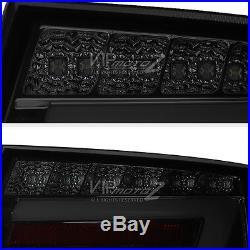 2005 2006 2007 2008 Audi A6 Smoke Rear LED TUBE Tail Lights Brake Signal Reverse