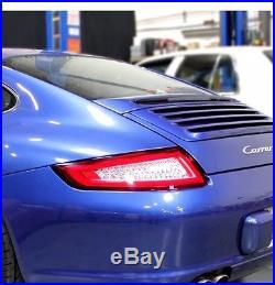 2005-2008 Porsche 911/997 Carrera Targa GT3 GT2 Turbo Red/Clear LED Tail Lights