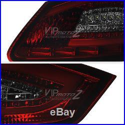 2005-2008 Porsche 987.1 Boxster Cayman S FiBeR OpTiC Red Smoke LED Tail Lights