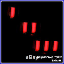 2005-2009 Ford Mustang Smoked LED Tube Sequential Signal Tail Lights Brake Lamps