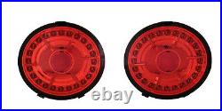 2005-2013 C6 Corvette Authentic Eagle Eye Branded LED Tail Lights Factory Red