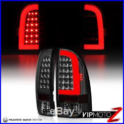 2005-2015 Toyota Tacoma X-Runner PreRunner TRD Smoke LED Neon Tube Tail Lights