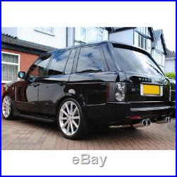 2006-2009 Land Rover Range Rover HSE EURO Black/Clear LED Tail Lights Left+Right