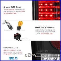 2006-2010 Hummer H3 Black L. E. D Neon Tube Tail Light Brake Signal Lamp PAIR NEW