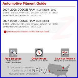 2007-2008 Dodge Ram 1500 MURDER OUT Smoke LED Tail Lights 07-09 Ram 2500 3500