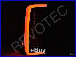 2007-2013 Chevy Silverado 1500 2500 3500 Pickup G3 Black LED Tail Lights RH+LH