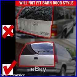 2007-2013 Chevy Suburban Tahoe LED Tail Lights Black Smoke Rear Lamps PAIR