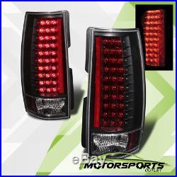 2007-2014 Chevy Suburban/Tahoe GMC Yukon XL Denali Black LED Brake Tail Lights