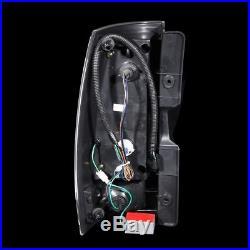 2007-2014 Chevy Suburban/Tahoe GMC Yukon/Yukon XL LED Black Tail Lights Lamps G4