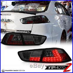 2008-2017 Lancer Evolution EVO X GSR MR 4B11 Smoke JDM LED Tail Light Lamp Turbo