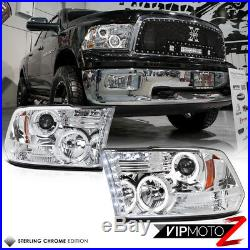 2009 2010 2011 2012 2013-2018 Dodge Ram Chrome Halo Head Lights LED Tail Lights
