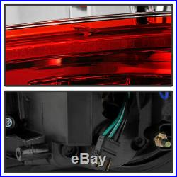 2009-2014 Ford F150 FX4 STX Red LED Light Tube Tail Lights Lamps Pair Left+Right