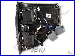 2009-2014 Ford F150 F-150 Pickup G2 Black LED Tube Tail Lights Lamps RH & LH