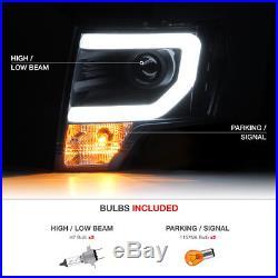 2009-2014 Ford F150 Smoke LED Brake Lamp Tail Light Halo Tube DRL Headlight Lamp