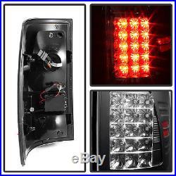 2009-2017 Dodge Ram 1500 2500 3500 Philip Lumiled LED Black Tail Lights Lamps