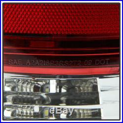 2009-2018 Dodge Ram 1500 10-18 Ram 2500 3500 Red Full LED Tail Lights Lamps Pair