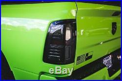 2009-2018 Dodge Ram Morimoto XB LED Tail Lights Smoked Rear Brake Lamps L+R Set