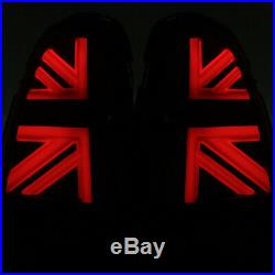 2011-2015 Helix Mini Cooper R56 R57 R58 R59 LED Union Jack Taillights Clear