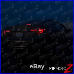 2012-2014 Toyota Camry SE LE Hybrid Black NEON TUBE LED Rear Brake Tail Light