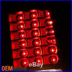 2014-2016 Silverado 1500/ 15-16 2500 3500 HD Black Smoked LED Brake Tail Lights