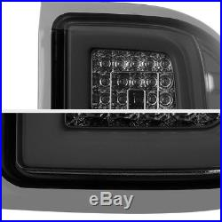 2014-2018 Chevy Silverado Smoked Lens OLED TUBE LED Tail Lights Assembly Pair