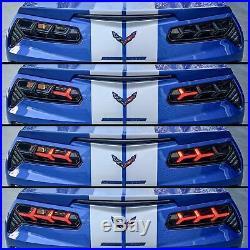 2014-2019 C7 Corvette Morimoto Aventador-Style LED Tail Lights