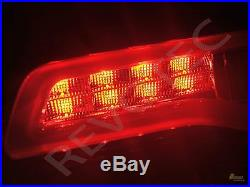 2014-2019 Jeep Grand Cherokee Limited LED Tail Lights Red Smoke Black RH & LH