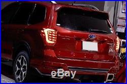 2014+ Subaru Forester (SJ) COLI Full LED Tail lamps Rear Light Cluster