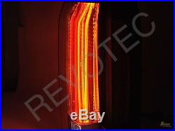 2015-2017 Chevy Suburban Tahoe SUV LS LT LTZ Full LED Tail Lights Black RH + LH