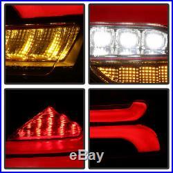 2015-2018 Ford Focus Hatchback LED SEQUENTIAL Signal Black Tail Lights Lamps Set