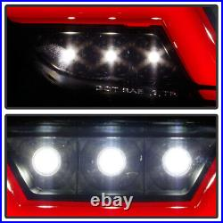 2015-2019 Ford Mustang Smoke withRed LED Tube Parking Light Reverse Back Up Lamp