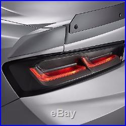 2016-2018 Chevrolet Camaro GM Darkened LED Tail Lamp Lights 84136777 NEW OEM GM