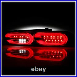 2016-2018 Chevy Camaro Incandescent Black LED Tail Lights with Sequential Signal