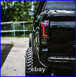 2016-2020 Toyota Tacoma LED Tail Light Black/Smoke Lens FREE CANBUS LED REVERSE