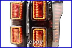 2018+ Ford F150 Morimoto XB LED Tail Lights (Smoked or Red)