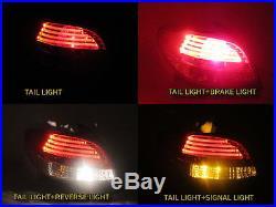 206 3D/5D Hatchback 1998-2010 LED Tail Rear Light Red/Clear for PEUGEOT
