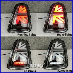 2X LED Tail Lights For BMW MINI Cooper R56 R57 R58 R59 2007-2013 Rear Brake Lamp