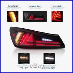 2 Pair Lights For Lexus IS250 350 ISF 2006-2012 Full LED Headlights& Tail Lights