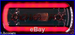 2 x 12V/24V GLOW-TRAC LED NEON REAR COMBINATION TAIL LAMPS LIGHTS TRUCK TRAILER