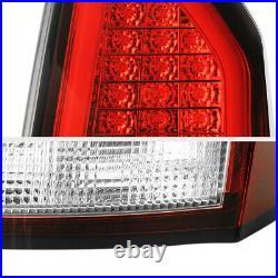 3D DESIGN NEON TUBE For 05-07 Chrysler 300C Factory RED LED Tail Light LH+RH