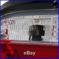 3D LED Light Bar 92-98 BMW 325 328 Coupe Red Tail Lights Clear Brake Lamps E36